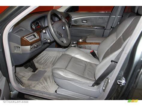 Bmw 745li Interior by Basalt Grey Flannel Grey Interior 2004 Bmw 7 Series 745li