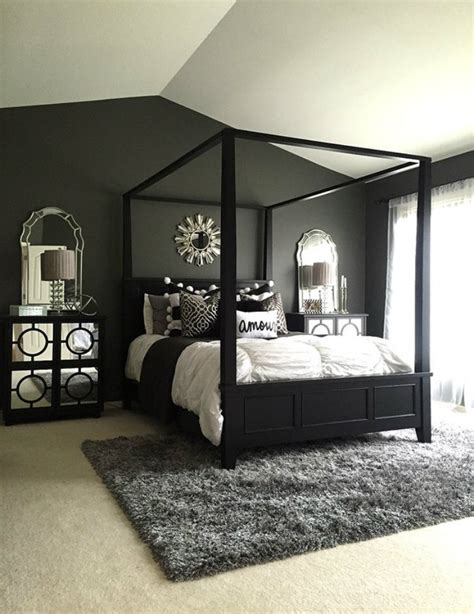 feel dark   black decor ideas   master bedroom