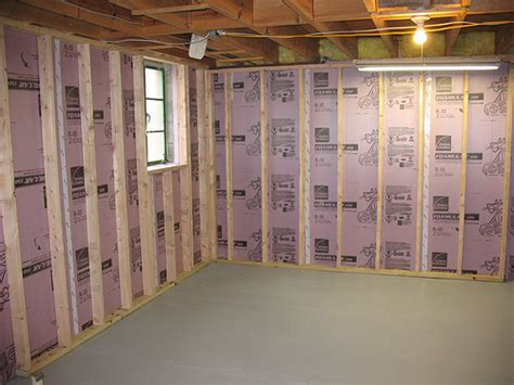 Should You Insulate Basement Walls by Insulating Cinder Block Exterior Walls Michigan