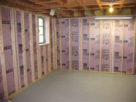 insulating cinder block exterior walls michigan