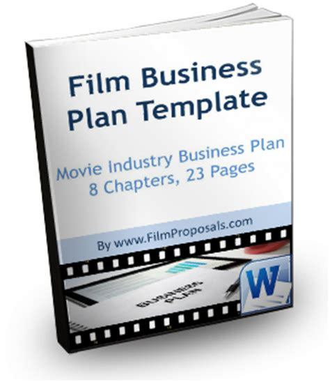 film business plan template professional plan