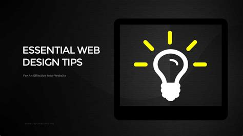 homepage web design tips web design tips for a new website that achieves your