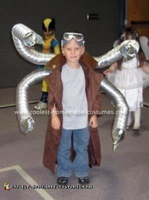 cool homemade doctor octopus costume