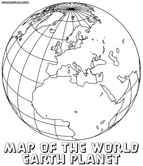 coloring page world globe world map coloring pages coloring pages to download and