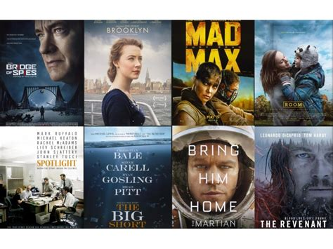 best film in oscar award oscars 2016 best picture nominees with their depiction of