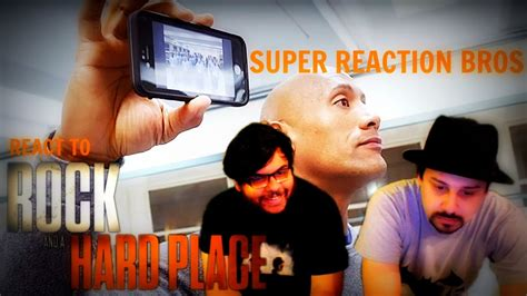 A Place Trailer Reaction Reaction Bros React Review Rock And A Place Official Trailer 1