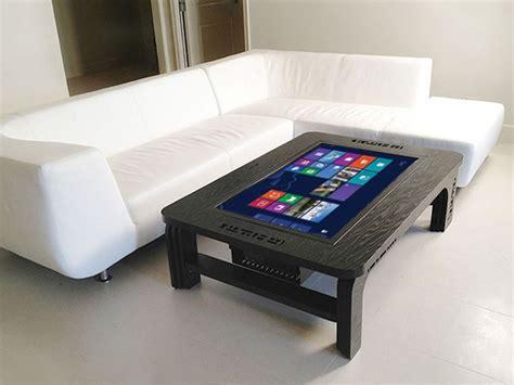 wohnzimmer tischle coffee table touchscreen der wohnzimmertisch mit