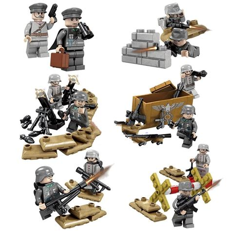 Lego Speciall Forces german army special forces ww lego minifigure