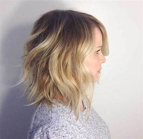 textured lob hairstyles image gallery textured lob