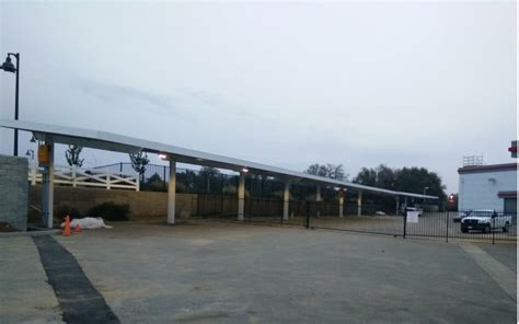 Tesla Superchargers In California Update Tesla S Solar Powered Supercharger Store