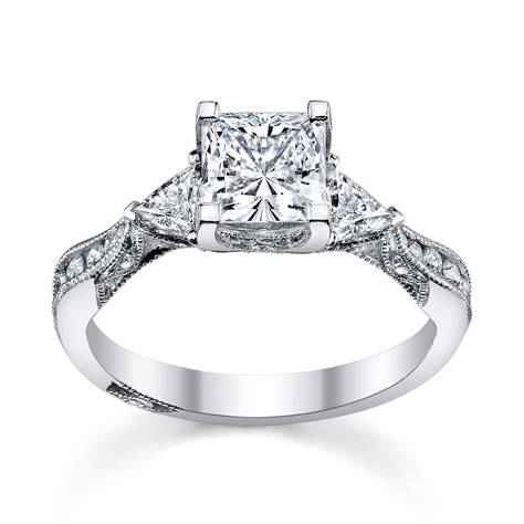 princess cut engagement rings 6 princess cut engagement rings she ll robbins