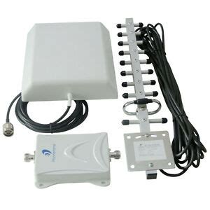 gsm 1800mhz 2 3 4g cell phone signal booster antenna repeater lifier kit ebay