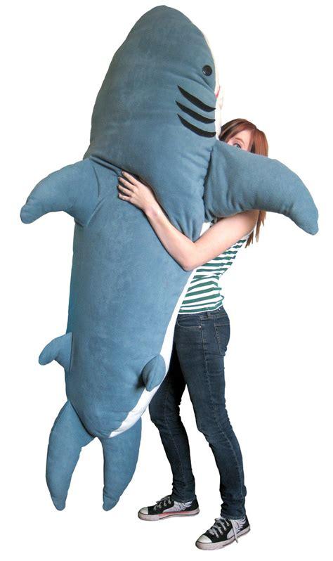 oversized shark pillow cushions sleeping bags christmas original chumbuddy