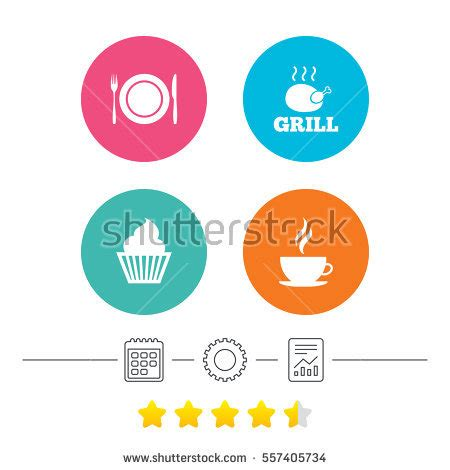 Rice Cake Bread Coffee Template Stencil Cetakan Hias Nasi Kue Kopi 1 many vector colorful icons milk egg stock vector 292892618