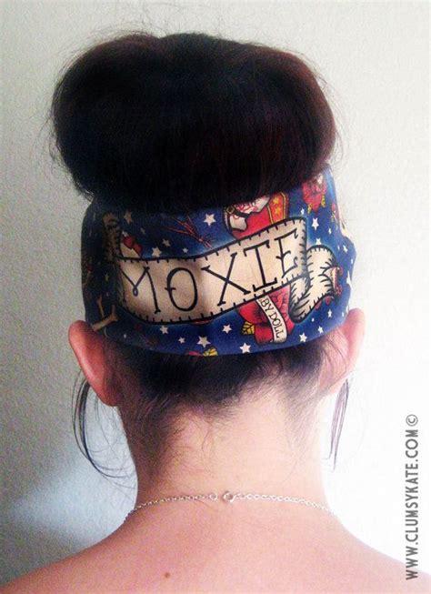 Custom Tattoo Printer | roller derby name custom tattoo print head scarf by by