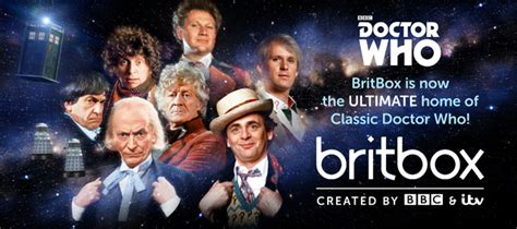 britbox shows brit telly huge news classic doctor who comes to