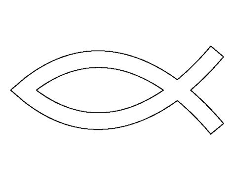 christian fish coloring page jesus fish pattern use the printable outline for crafts