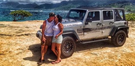 jeep couple oahu for lovers tour hawaii jeep tours hawaii jeep tours