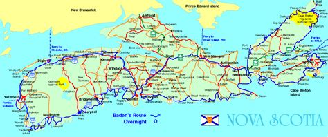 where is scotia in canada on the map novascotia map 点力图库