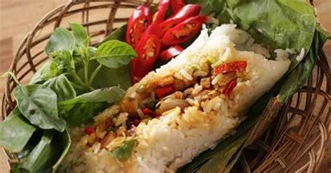 cara membuat nasi bakar kendil resep nasi bakar ayam kemangi enak khas bandung resep