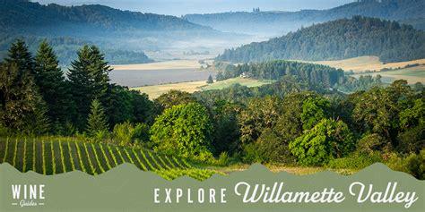 explore  willamette valley   wine glass