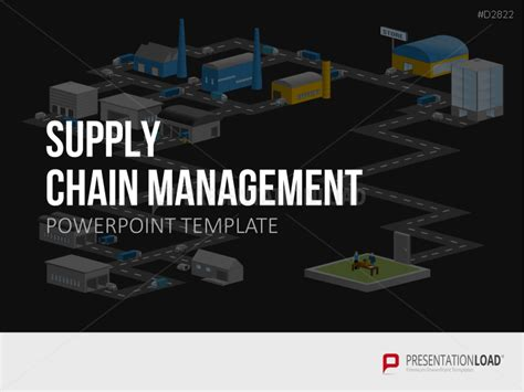 New Powerpoint Templates Themes Slides Presentationload Supply Chain Management Powerpoint Template