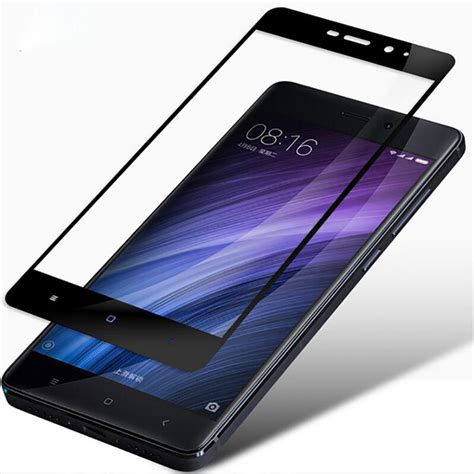Tempered Glass Xiaomi Redmi 4a new cover tempered glass for xiaomi redmi 4 prime note 4 note 3 mi4 mi5 mi5s mi5c 4a screen