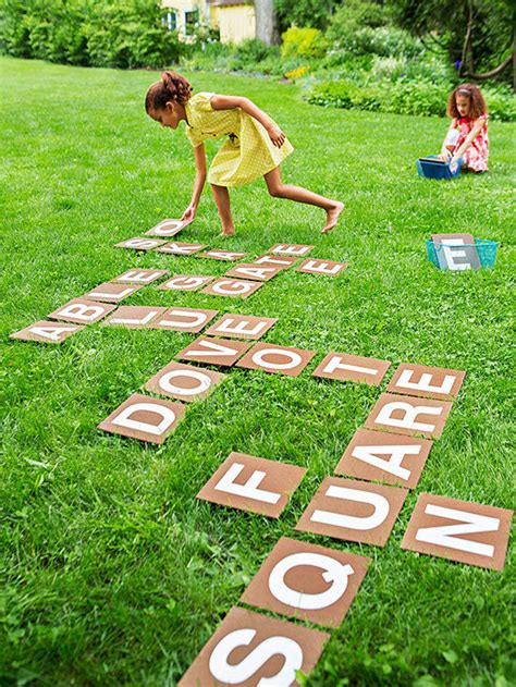 big backyard games learning activity backyard spelling game