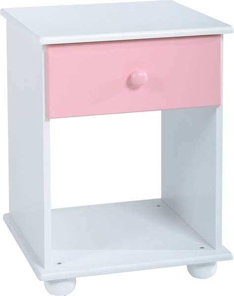 Bedside Chest Of Drawers White by Bedroom Furniture Pink White Wardrobe Bed Chest Of