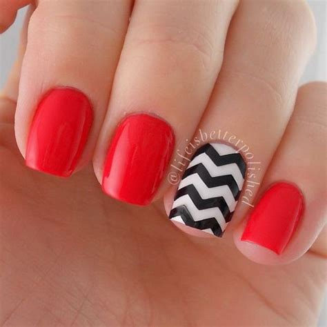 chevron pattern for nails beautiful chevron nail art designs noted list