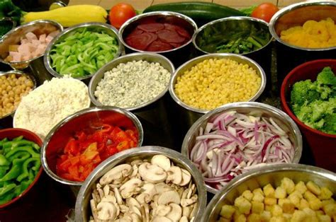 Best Salad Bar Toppings by Potlucks Rock Doc Rob
