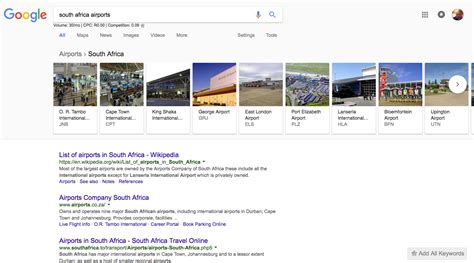 South Africa Finder Introduces Carousel Search Filters Nichemarket