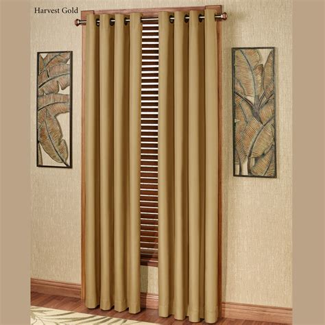 paramount curtain store paramount solid color thermal grommet curtain panels