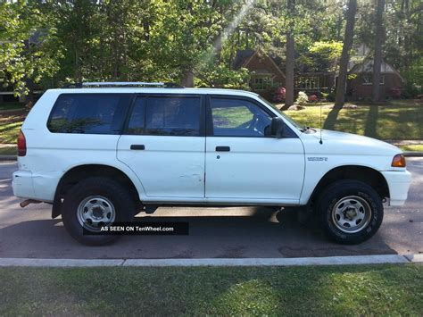 1998 mitsubishi montero sport 1998 mitsubishi montero sport information and photos