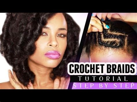 step by step natural hair styling crochet braids w marley hair step by step youtube