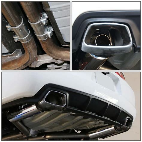 dodge charger cat back exhaust 2011 2014 dodge charger 3 6l v6 catback exhaust system