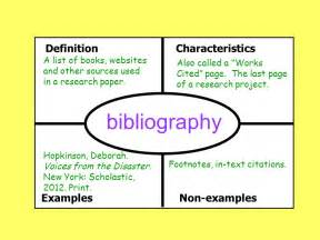 research paper with footnotes and bibliography