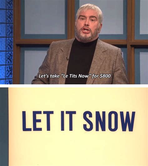 Meme Categories - snl celebrity jeopardy