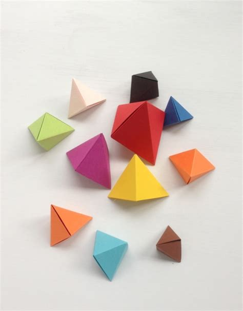 How To Make Origami Shapes - and easy diy origami necklace for kidsomania