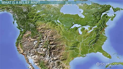 relief map relief map definition history use lesson transcript study