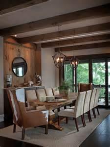 Rustic rustic modern dining room home design photos amp decor ideas