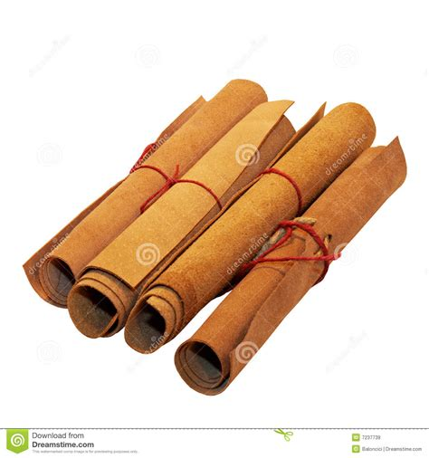 Leather Roll roll leather stock image image of parchment style isolated 7237739