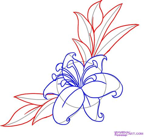 how to draw a flower tattoo step by step tattoos pop