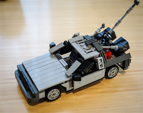 lego the delorean back to the future trilogy 30th anniversary re release
