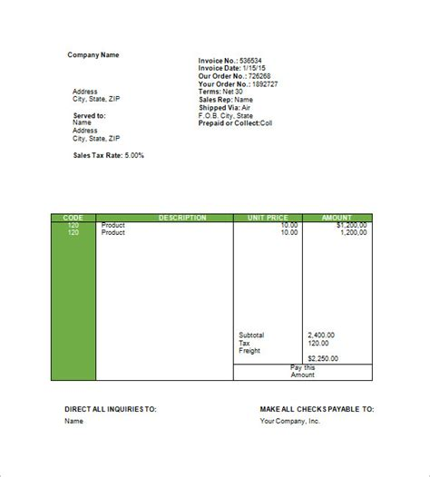 travel invoice template travel invoice template 12 free sle exle format
