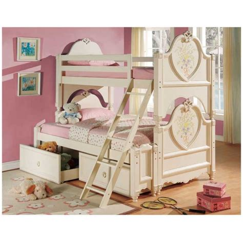 bunk beds for girls casual cottage
