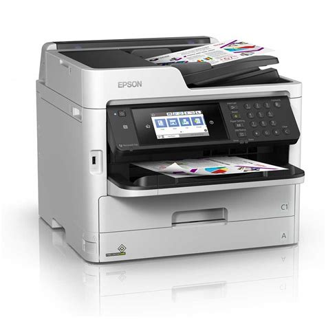 epson workforce pro wf c5710dwf a4 colour multifunction inkjet printer c11cg03401by