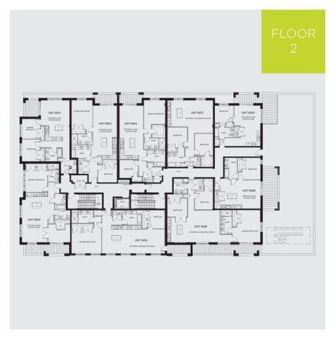 Building floor plans   RavenLux Apartments