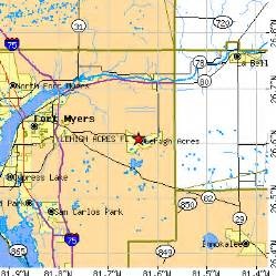 lehigh acres florida map lehigh acres florida fl population data races