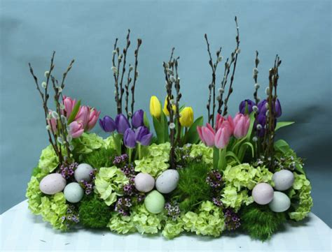 easter arrangements blinds decor ideas for easter floral arrangements best